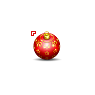 Christmas Tree Ornament Red Ball