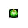 Christmas Tree Ornament Green Ball