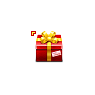 Christmas Red Gift Box