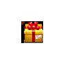 Christmas Yellow Gift Box