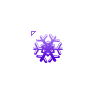Light Purple Snowflake