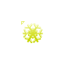 Yellow Snowflake