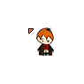 Harry Potter Chibi Ron Weasley