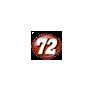 Number 72 - Nascar